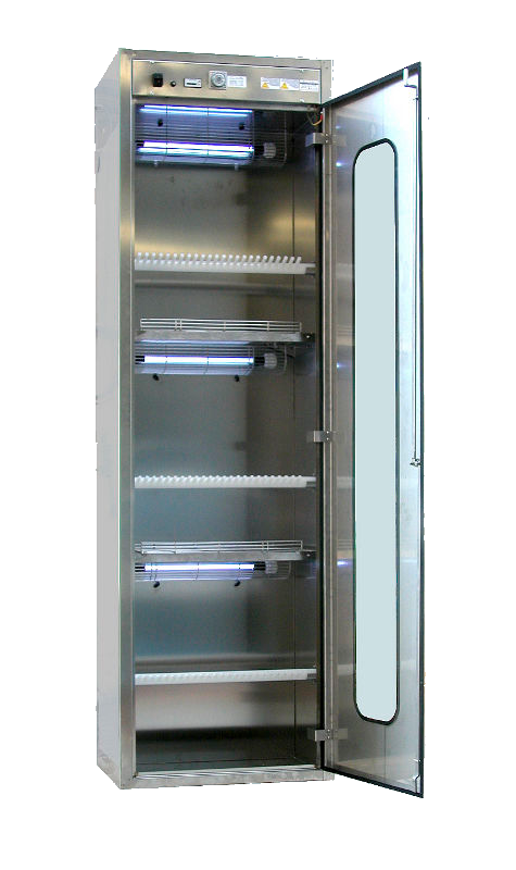 UV-CABINET for knife disinfection